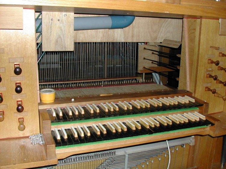 claviers de récit et de grand orgue