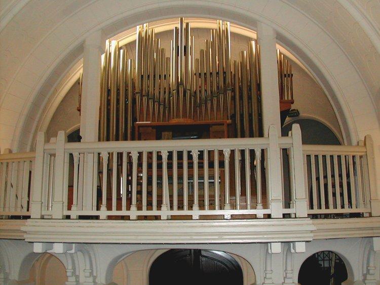 l'orgue en tribune